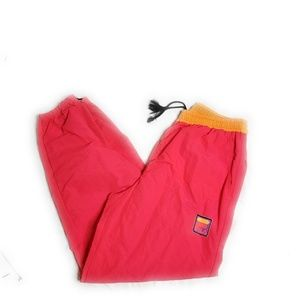 Vintage Fila Sports Neon Gym Track Swetpants